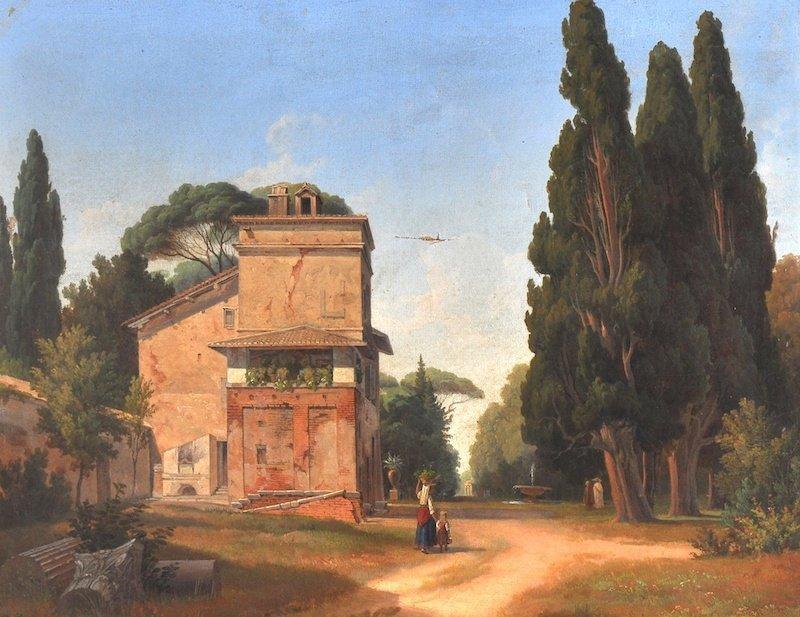 Circle of James Vivien De Fleury (19th Century)