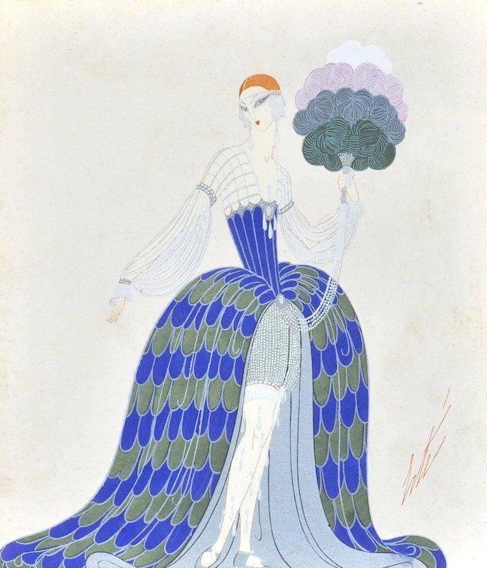 Romain de Tirtoff 'Erte' (1892-1990) Russian/French. An