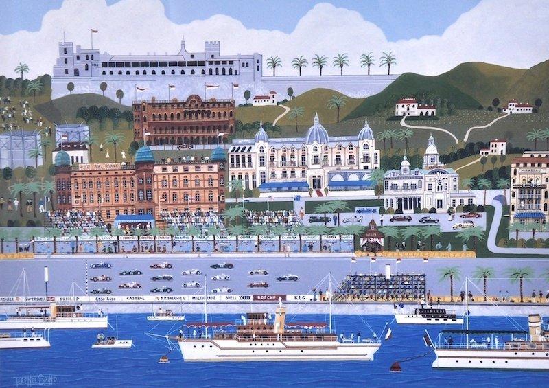 Terence J… Brind (20th Century British. 'The Monaco