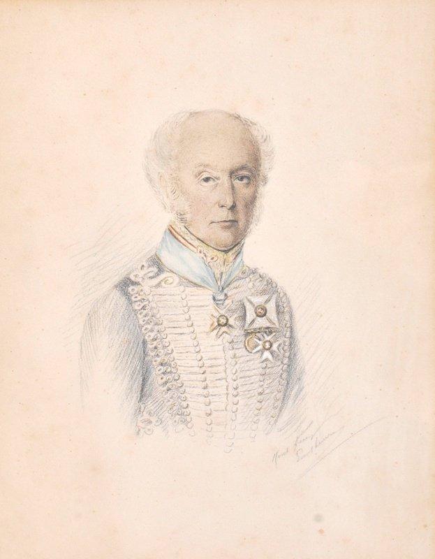 20th Century English School. Portrait of General Sir