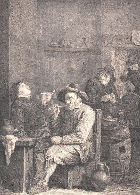After David Teniers (1582-1649) Dutch. 'Delices Des