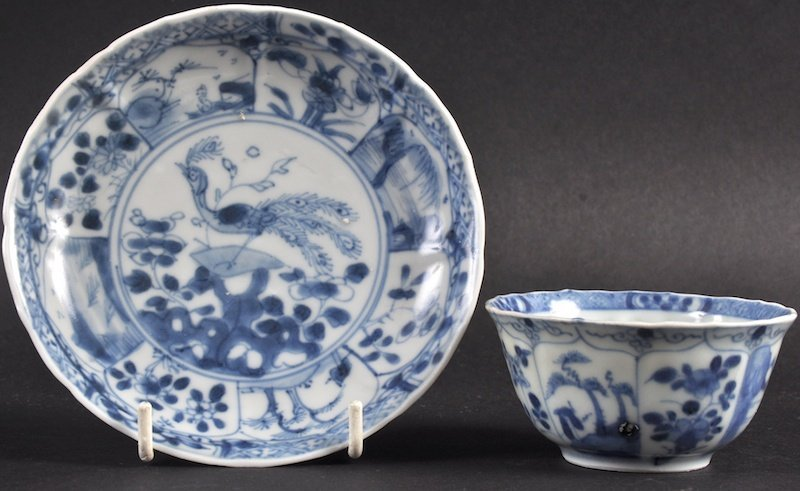 A CHINESE BLUE AND WHITE CA MAU CARGO BLUE AND WHITE