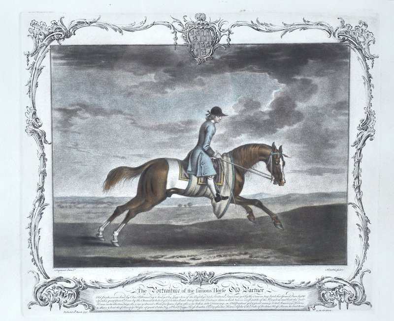 Richard Houston (1721-1775) British. A Riding Scene,