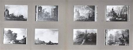 A Set of 12 volumes of photographs of old master