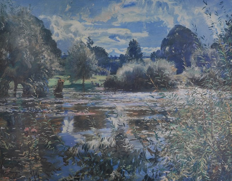 "Alfred James Munnings (1878-1959) British. ""The Full"