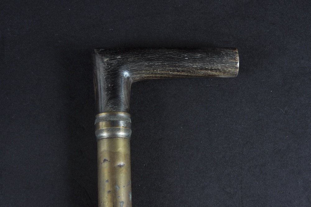 A PICNIC CANE.  Date: 1880.  Country: French. An