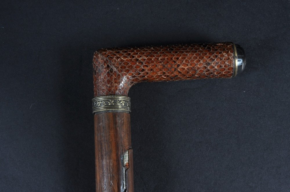 A VERY RARE EASEL STICK. Date: 1890.  Country: French.