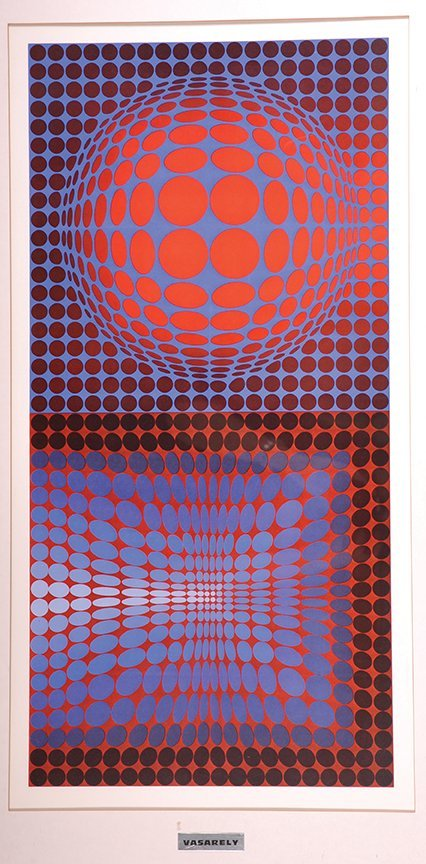 Victor Vasarely (1906-1997) Hungarian / French.