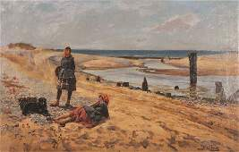 Henry John Yeend King (1855-1924) British. Fisher Girls