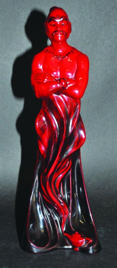 A ROYAL DOULTON FLAMBE FIGURE, 'THE GENIE', HN2999,