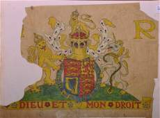 William Morris  Co an Original Study for the Royal