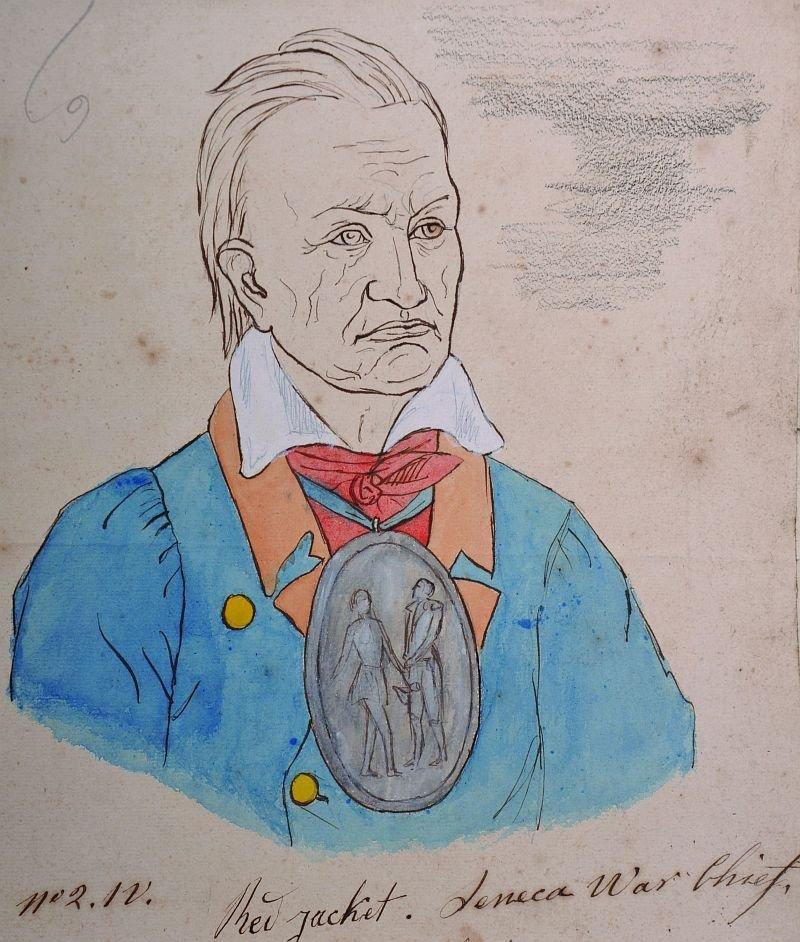 "18th Century American School. ""New Jacketâ€,"