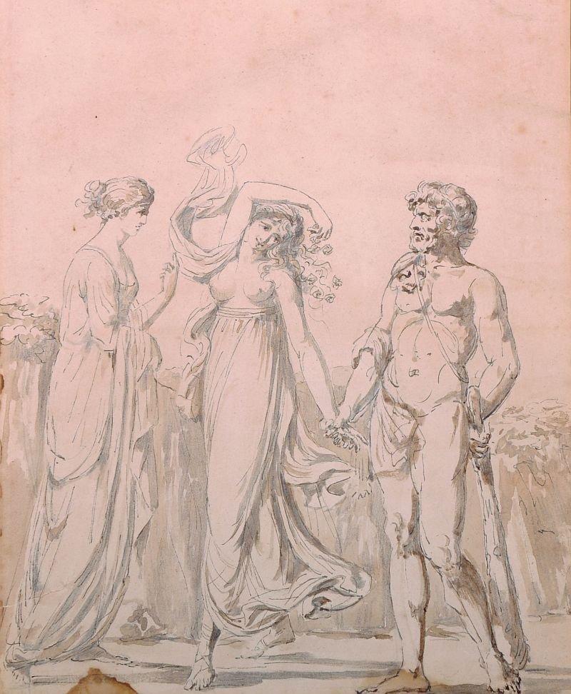 Early 19th Century English School. Figure Subject,