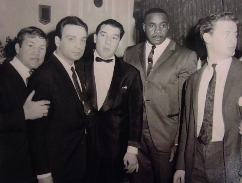 Early 20th Century British. Ronnie Kray with the World
