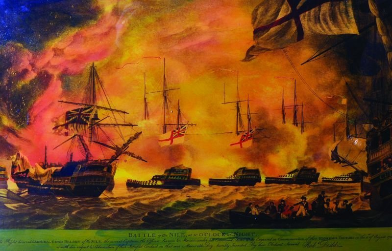 After Robert Dodd (1748-1816) British. 'Battle of the