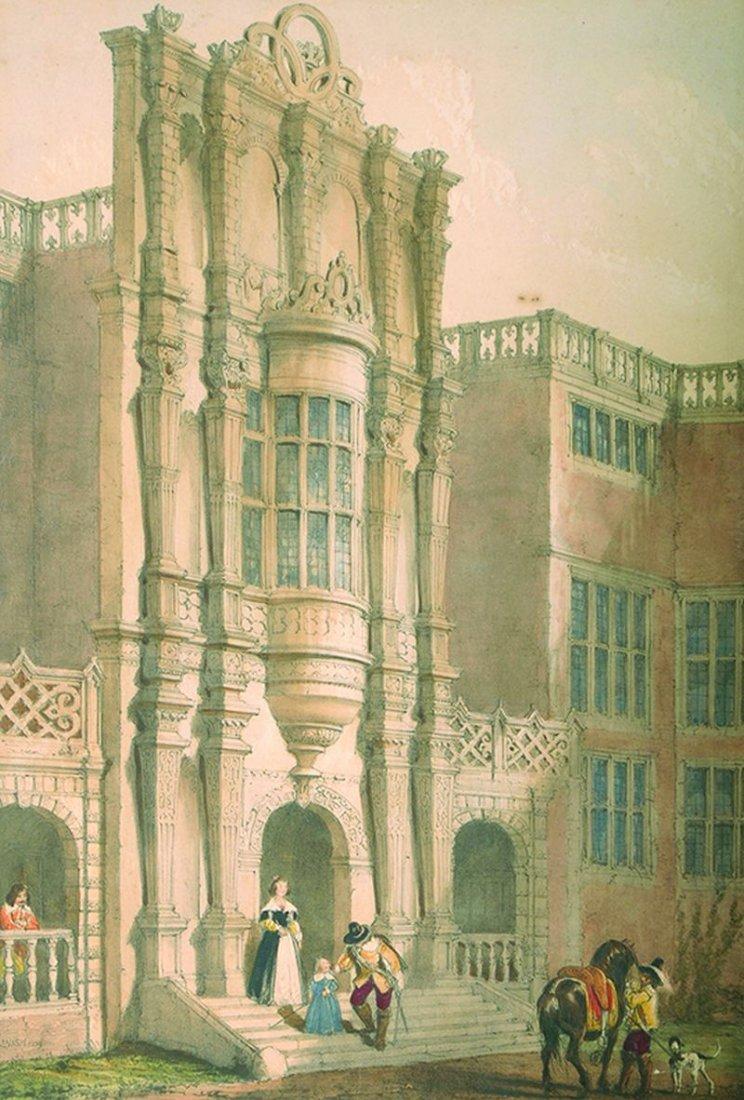 Joseph Nash (1808-1878) British. 'Bramshill, Hants',