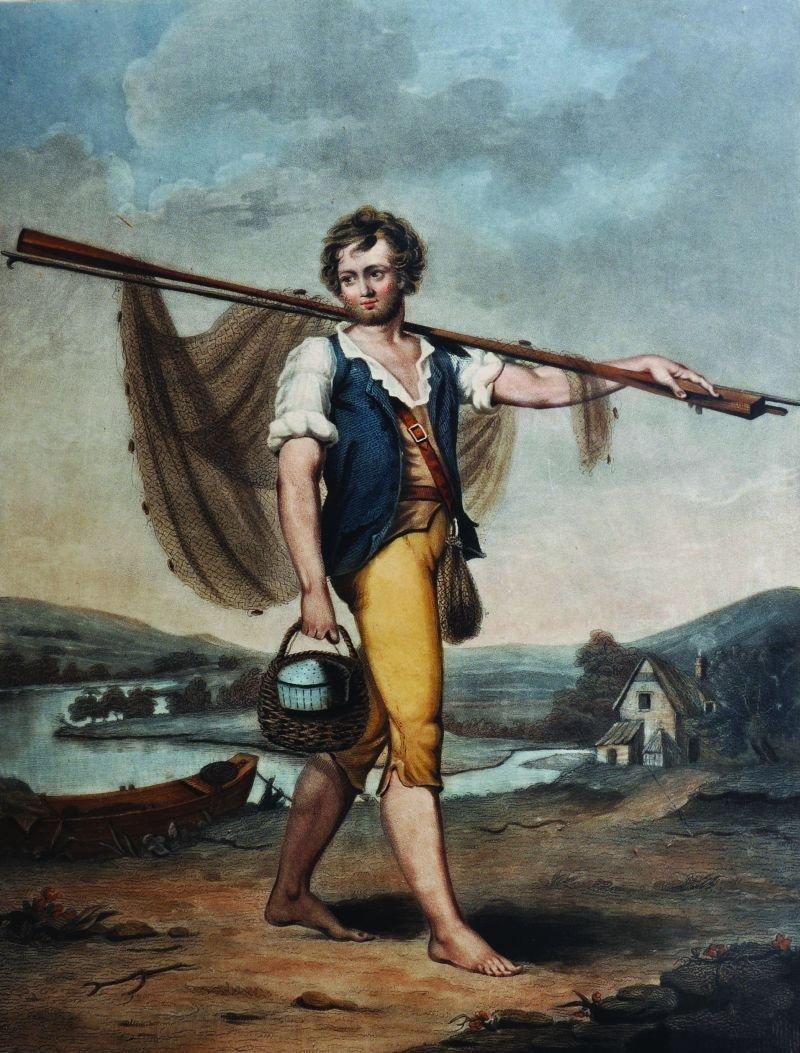 Turner (19th Century) British. 'The Fisherman',