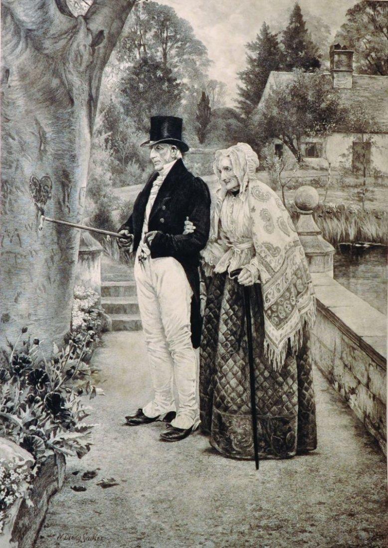 Walter Dendy Sadler (1854-1923) British. An Old Couple