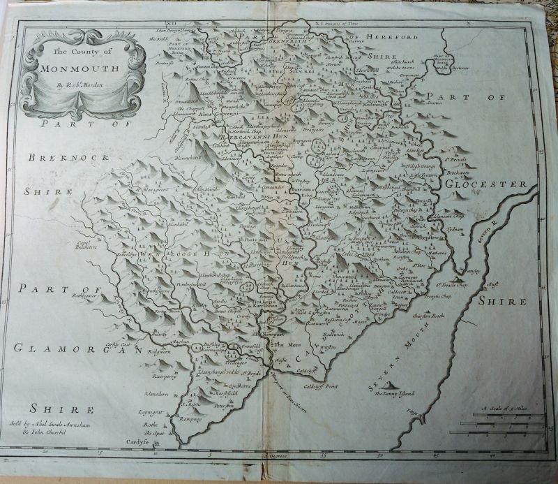 Robert Morden (17th – 18th Century) British. 'The