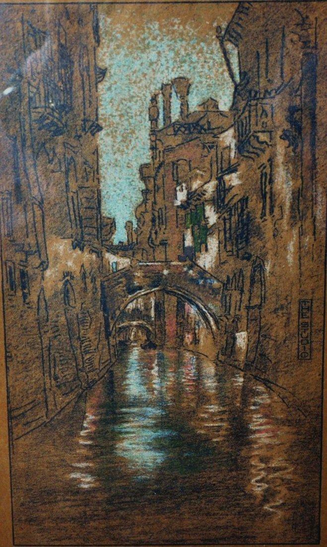 20th Century English School. A Venetian Backwater,