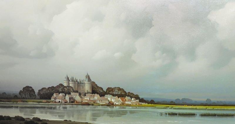 Pierre de Clausade (1910-1976) French. 'An Estuary