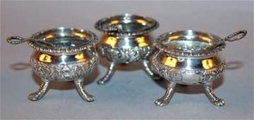 A GROUP OF THREE 19TH20TH CENTURY CHINESE SILVER