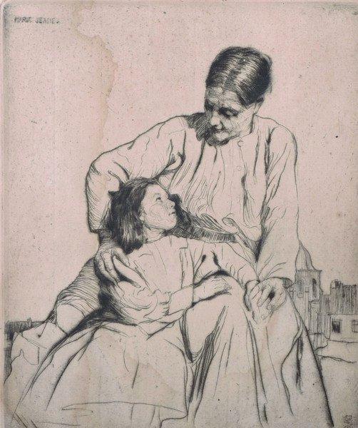 "William Lee Hankey (1869-1952) British. ""Marie-Jeane"","
