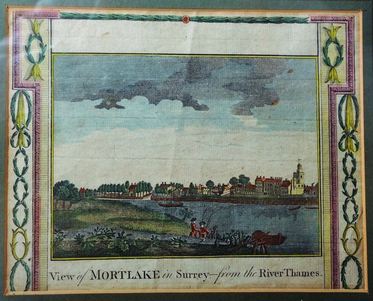 18th Century English School. 'View of Mortlake in