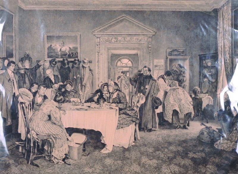 Walter Dendy Sadler (1854-1923) British. 'A Tea Party',