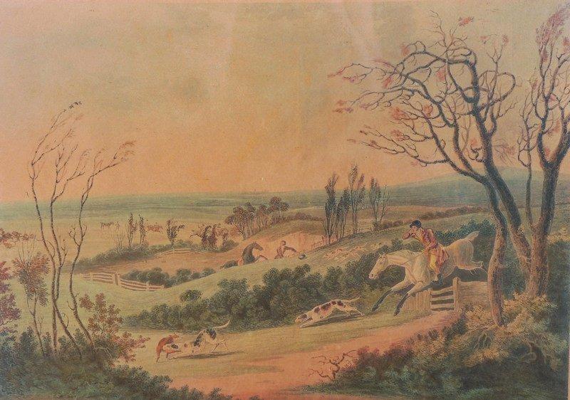 After Dean Wolstenholme (1757-1837) British. 'Fox