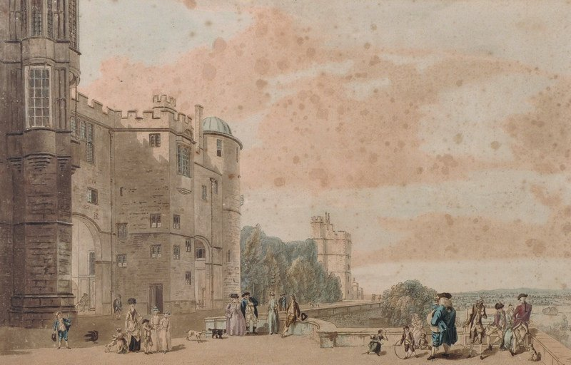 After Paul Sandby (c.1730-1809) British. 'Windsor