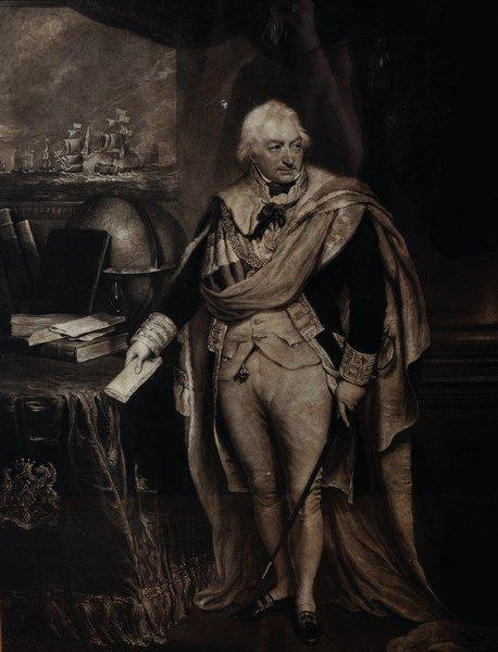 19th Century English School. Portrait of a Military Man