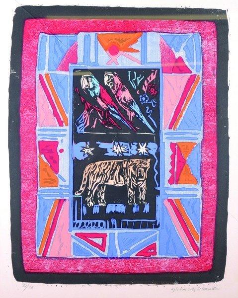 Michael Rothenstein (1908-1993) British. 'Little Zoo',