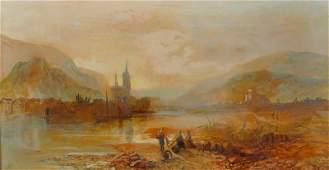 James Vivian De Fleury fl18471893 British Bingen