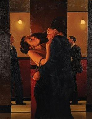 Jack Vettriano (1954- ) British. 'The Night