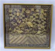 A GOOD QUALITY 19TH20TH CENTURY FRAMED CHINESE GILT
