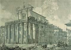 After Giovanni Battista Piranesi (1720-1778) Italian.