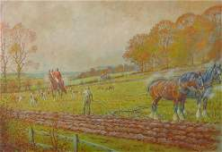 Eric MeadeKing 19111987 British A Hunting Scene