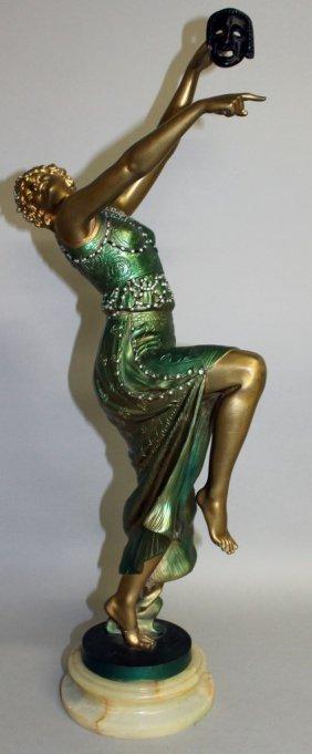 Joe Descomps (1869-1950) French A Superb Gilt Bronze
