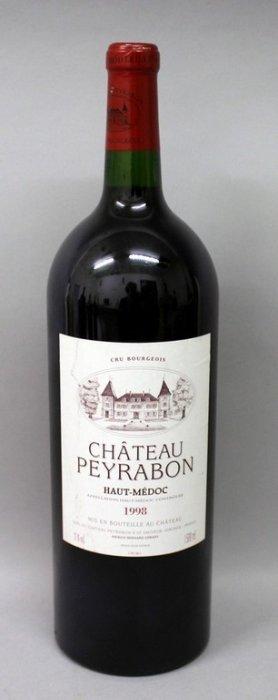 Chateau Peyrabon Haut Medoc 1998