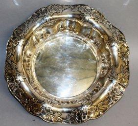 A Large Tiffany & Co Silver Art Nouveau Bowl, The Waved