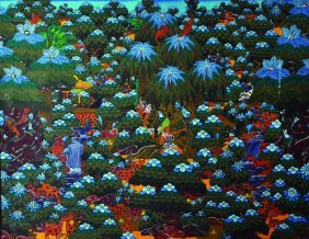 Another 20th Century Tahitian School Painting,