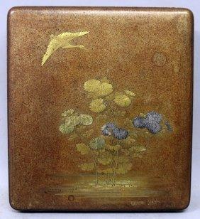 A Fine Quality Japanese Edo/meiji Period Lacquer