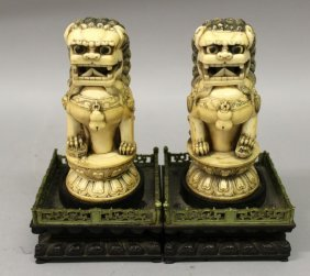 A Pair Of Good Quality Early 20th Century Chinese