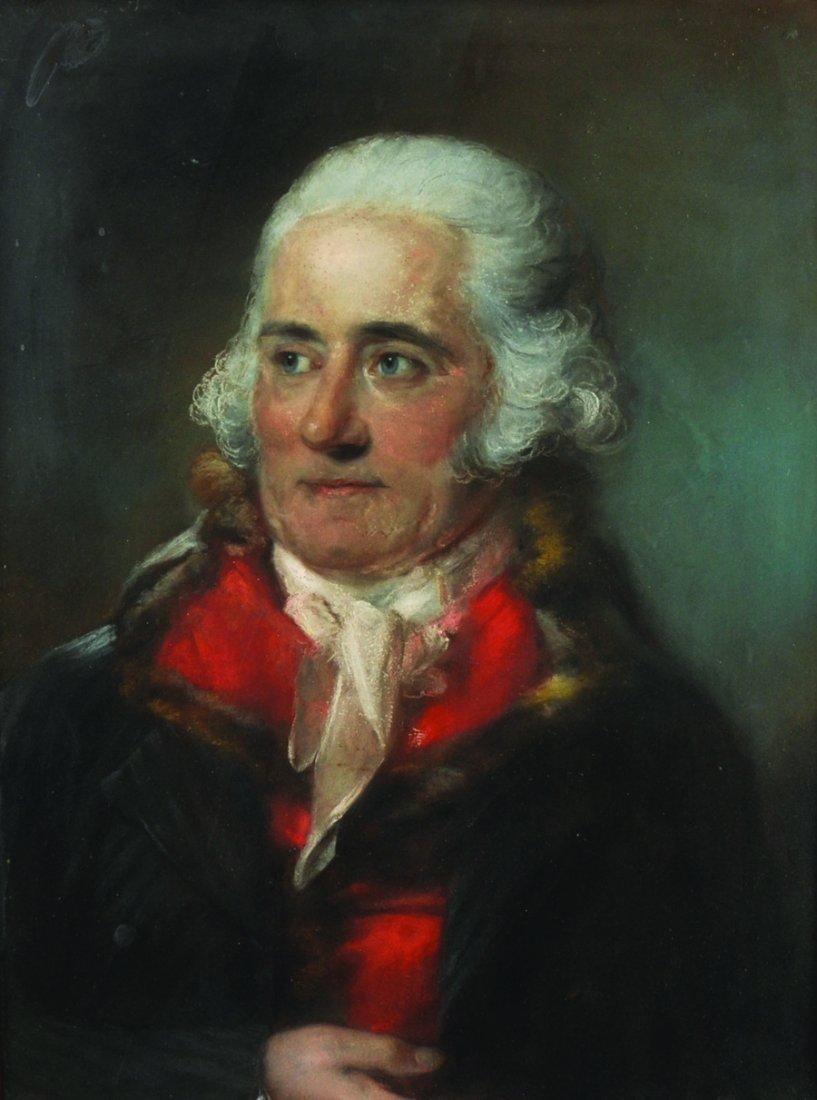 John Russell (1745-1806) British. Portrait of a Man,