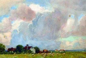 Patrick Lewis Forbes ( -1893) British. A Landscape
