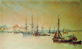 George Sheffield (1839-1892) British. 'scheldt,