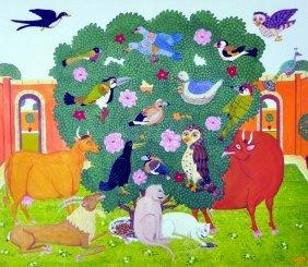 Mervyn Grist (20th Century) British. 'the Tree Of