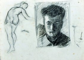 Jean Hippolyte Marchand (1883-1940) French. Study Of A