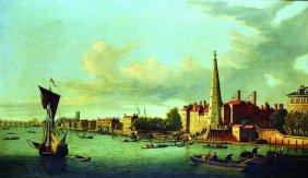 John Paul (c.1830-c.1890) British. A Scene On The
